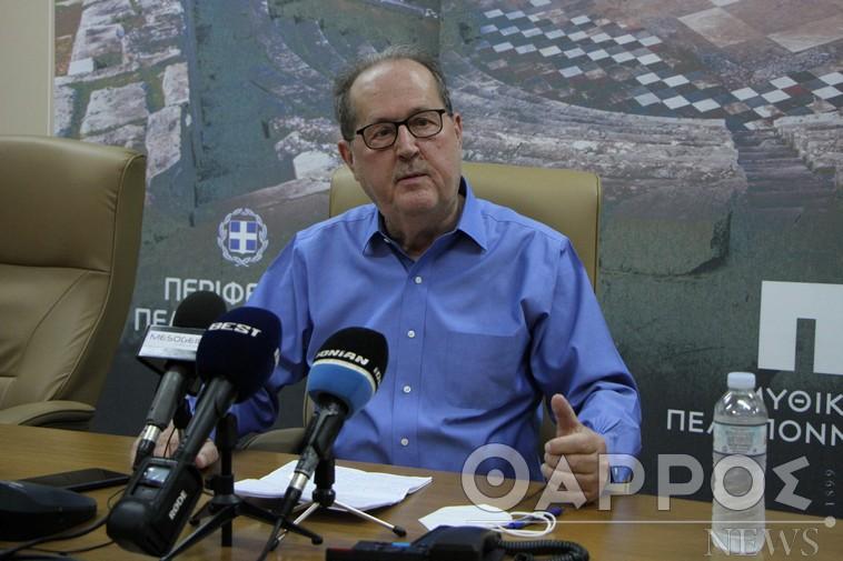 Μεσσηνία: Κριτική για έργα από Π. Νίκα,  ενώ ανακοίνωσε και νέα