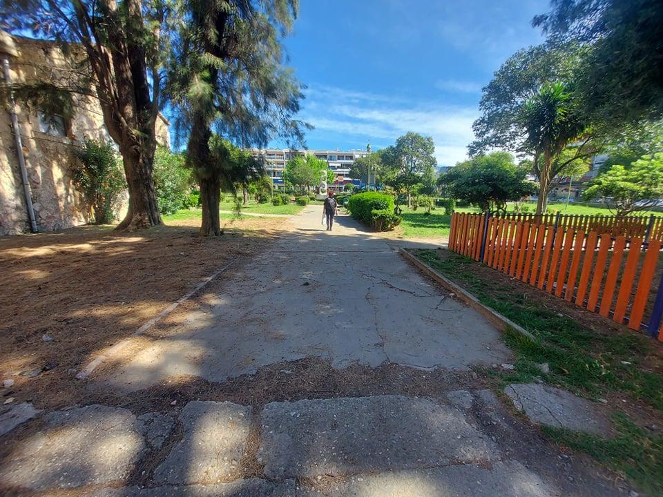 Καθυστερεί η μίνι ανάπλαση  στο Πάρκο του Λιμενικού