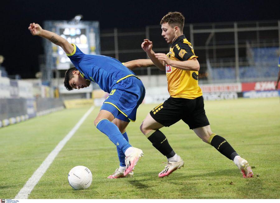 «Ντεμπούτο» με την ΑΕΚ στη SuperLeague o Μεσσήνιος Γιάννης Σαρδέλης