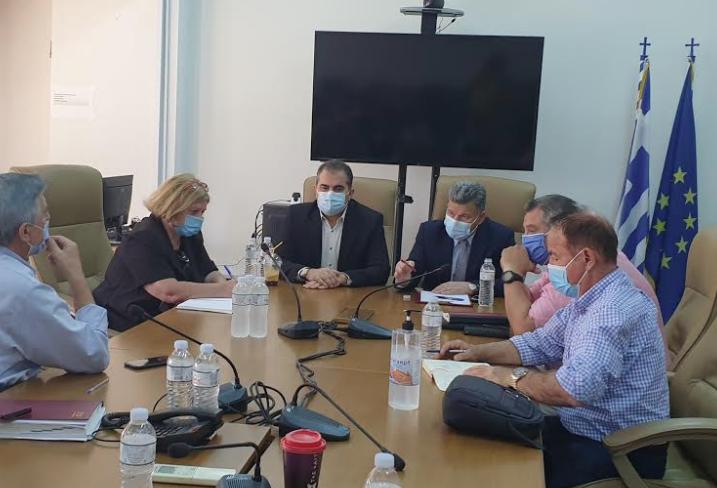 Συνάντηση Αναστασόπουλου-Βασιλόπουλου για την ασφαλτόστρωση στη Νέα Είσοδο