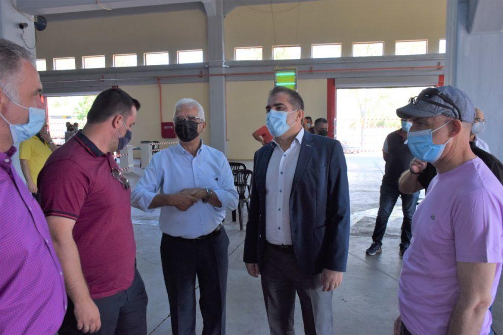 Επίσκεψη του δημάρχου  Καλαμάτας στη ΣΥΚΙΚΗ