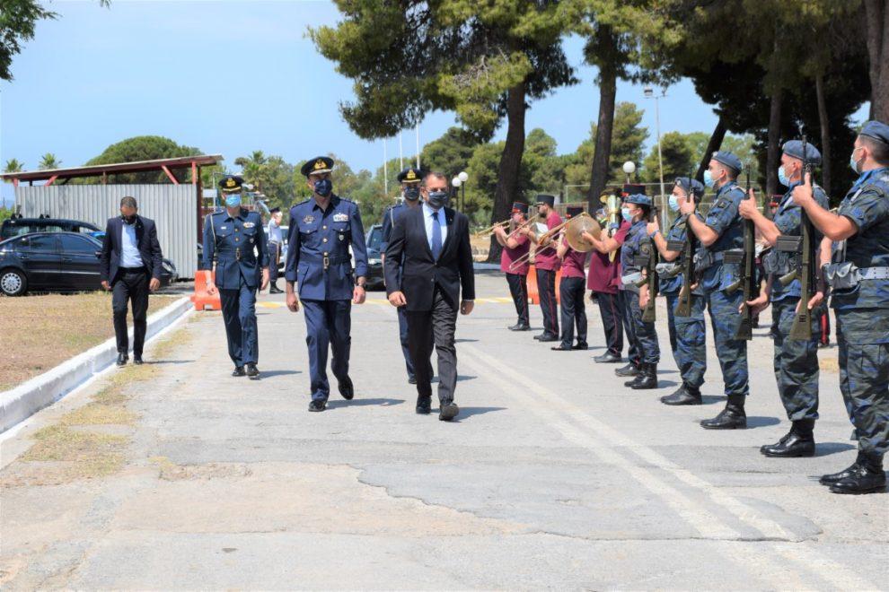 Στην Καλαμάτα ο ΥΠΕΘΑ Νίκος Παναγιωτόπουλος: Μπορούν να…συνυπάρξουν πολεμικό και πολιτικό αεροδρόμιο