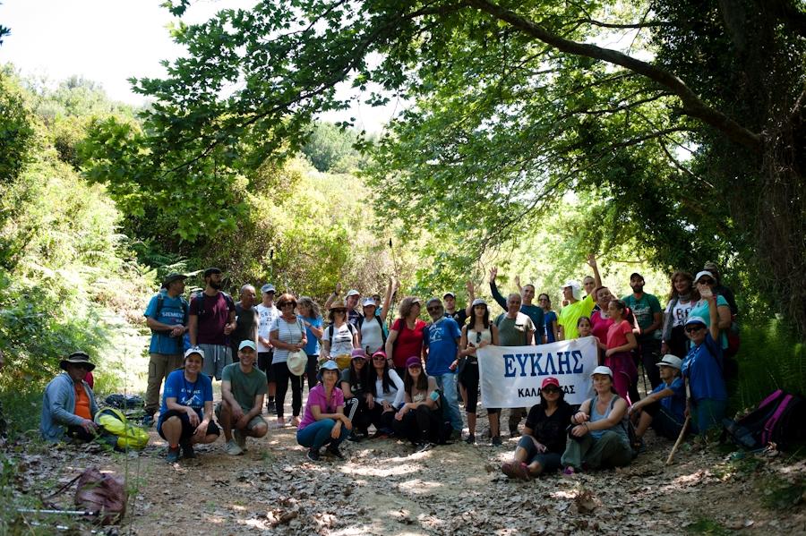 Ο Ευκλής Καλαμάτας εγκαινίασε το νέο Μηναγιώτικο Μονοπάτι Natura 2000
