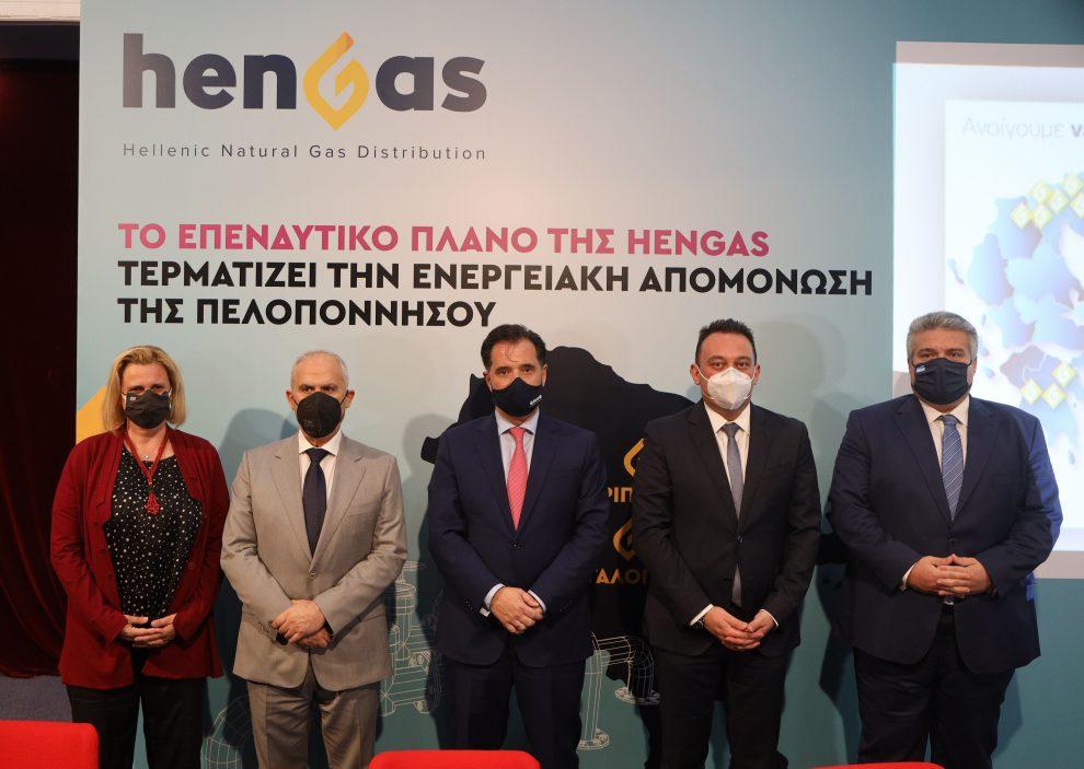 Μίλτος Χρυσομάλλης: Σύντομα το φυσικό αέριο έρχεται στη Μεσσηνία