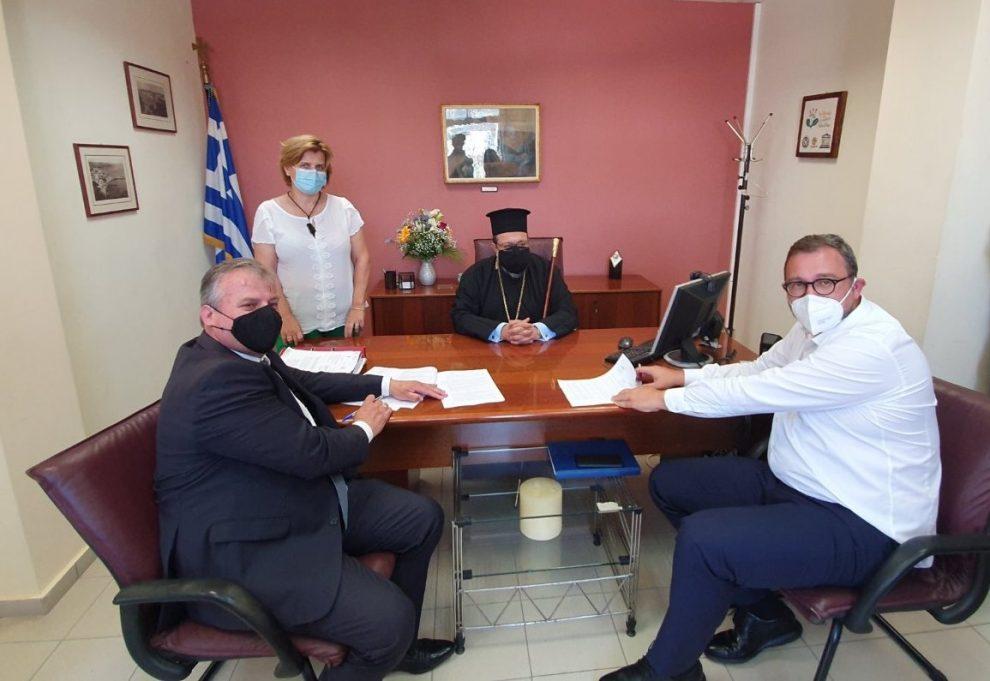 Υπεγράφη η σύμβαση ανέγερσης νέου  σχολικού συγκροτήματος στην Κορώνη