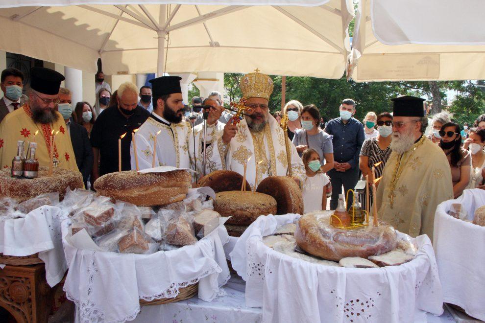 Η εορτή της Αγίας Τριάδος στην Ιερά Μητρόπολη Μεσσηνίας