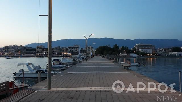 Για βόλτα στο λιμάνι της Καλαμάτας…
