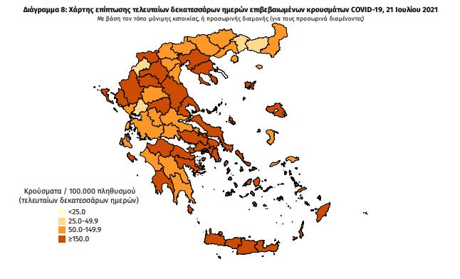 Κορωνοϊός: 32 νέα κρούσματα στη Μεσσηνία – 2.972 σε όλη την Ελλάδα