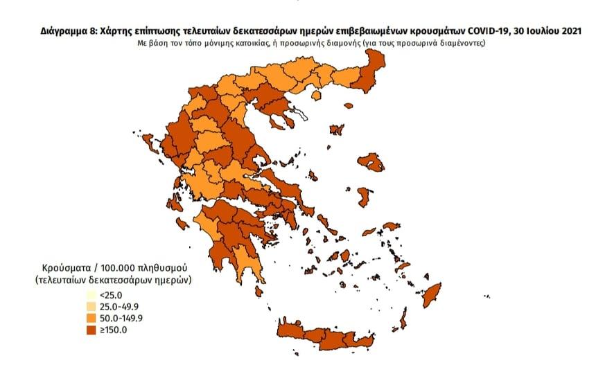 Κορωνοϊός: 35 νέα κρούσματα στη Μεσσηνία – 2.845 σε όλη την Ελλάδα
