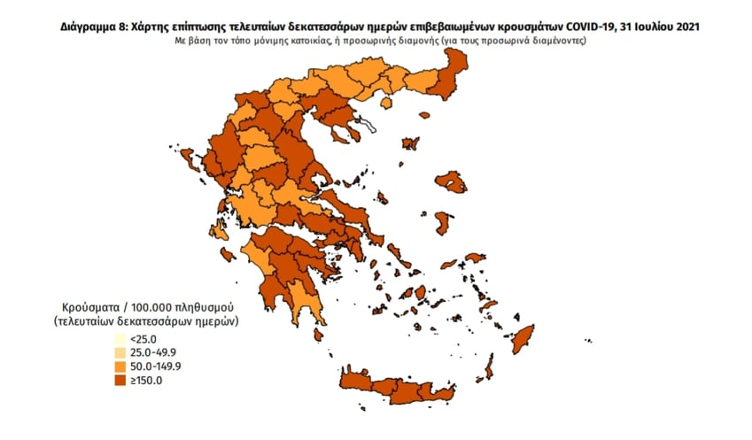 Κορωνοϊός: 27 νέα κρούσματα στη Μεσσηνία – 2.760 σε όλη την Ελλάδα
