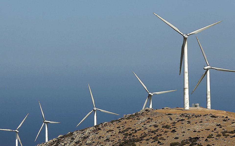 Δεύτερη πανελλαδικά σε παραγωγή αιολικής ενέργειας η Περιφέρεια Πελοποννήσου