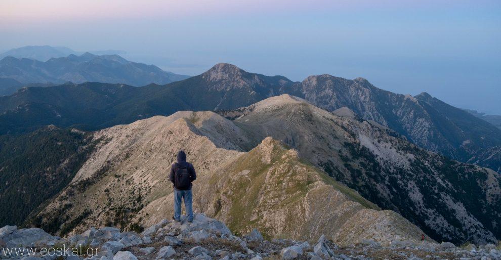 Αναβάσεις σε Χαλασμένο και Προφήτη Ηλία από τον Ορειβατικό Σύλλογο Καλαμάτας