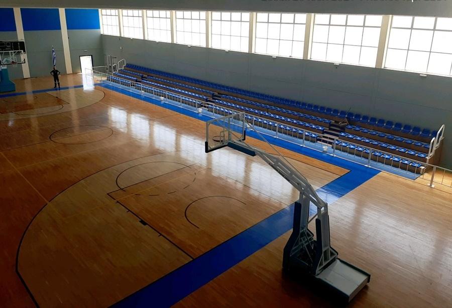 Ανακαινισμένο πλέον  το Κλειστό Γυμναστήριο Μεσσήνης