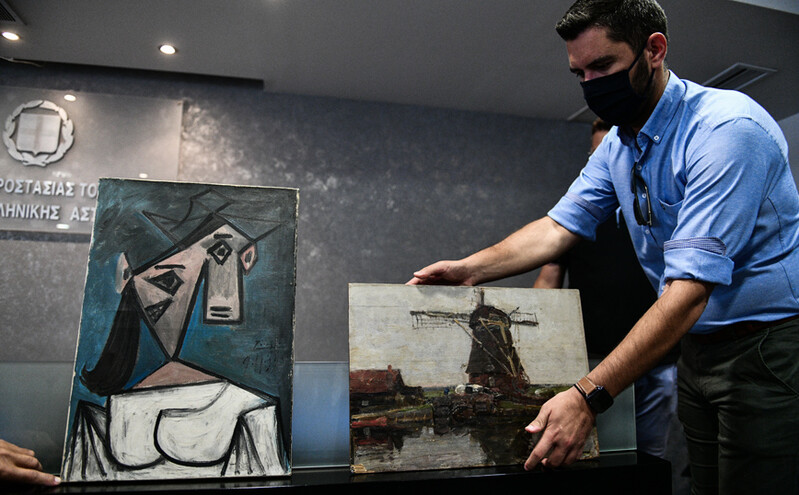Προφυλακιστέος ο 49χρονος για την «κλοπή του αιώνα» στην Εθνική Πινακοθήκη