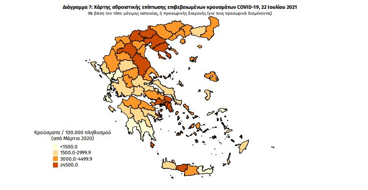Κορωνοϊός: 30 νέα κρούσματα στη Μεσσηνία – 2.604 σε όλη την Ελλάδα