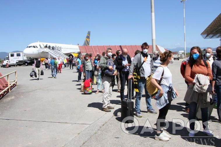 Άγγλοι, Γερμανοί και Γάλλοι πρωτοστατούν στις αφίξεις στο αεροδρόμιο Καλαμάτας