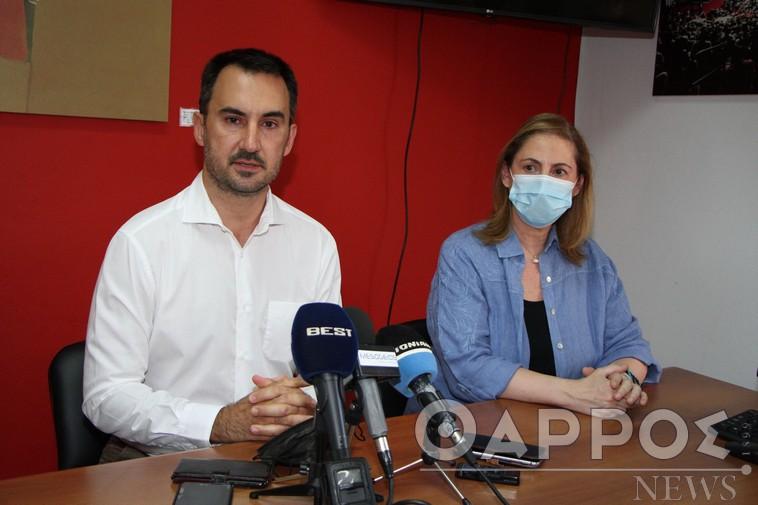 Επίθεση στην κυβέρνηση από Χαρίτση και Ξενογιαννακοπούλου για διαχείριση πανδημίας και εργασιακά