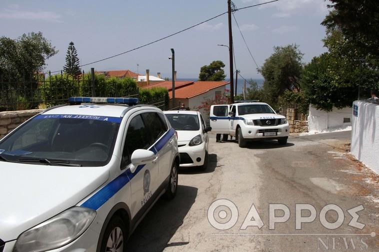 Η ανακοίνωση της Αστυνομίας για τη δολοφονία της 86χρονης στη Μ. Μαντίνεια