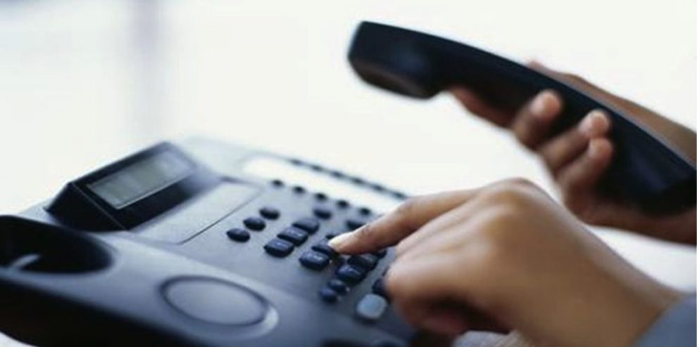Strange phone calls from abroad