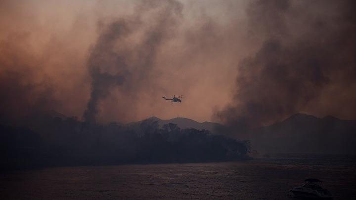 Σε 16 ανήλθαν οι τραυματίες από την πυρκαγιά στην Αχαΐα