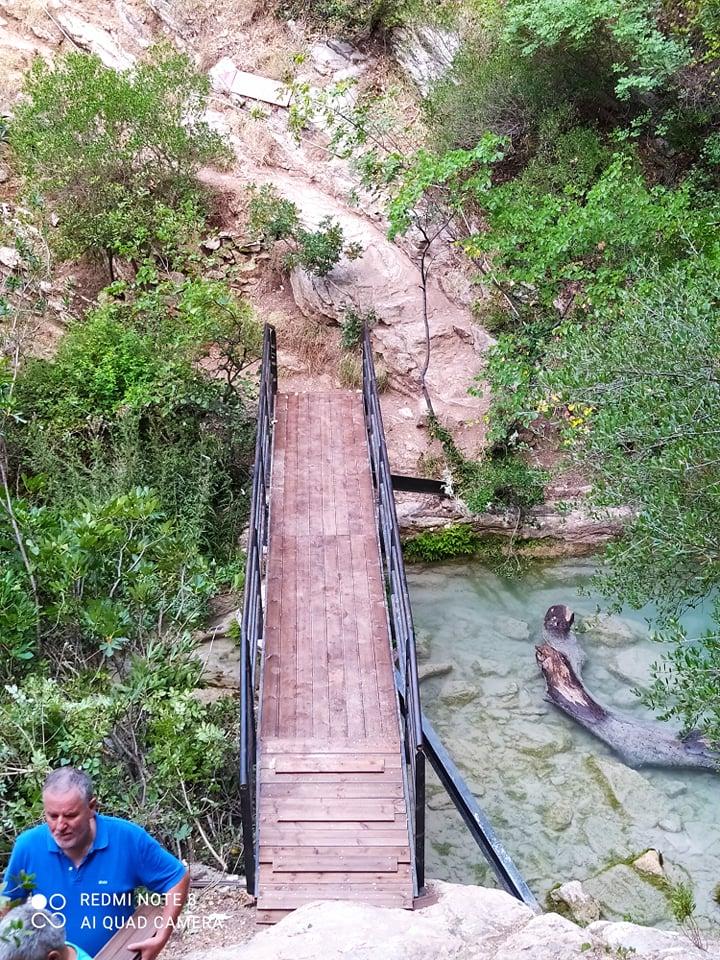 Νέδα: Αντικατέστησαν ξύλα της γέφυρας και αποκατέστησαν φθορές για ασφάλεια