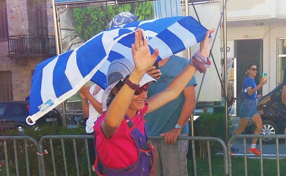 Πρώτη Ελληνίδα στο Σπάρταθλον η Σταυρούλα Μπάκα, καλοί τερματισμοί για Δούβα και Η. Μπάκα