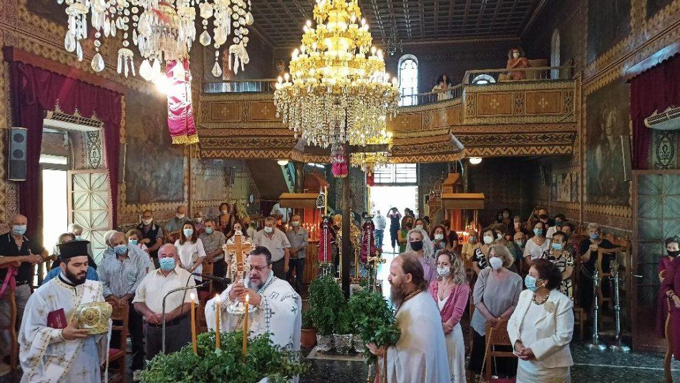 Μητρόπολη Μεσσηνίας: Τιμήθηκε η εορτή της Υψώσεως του Τιμίου Σταυρού