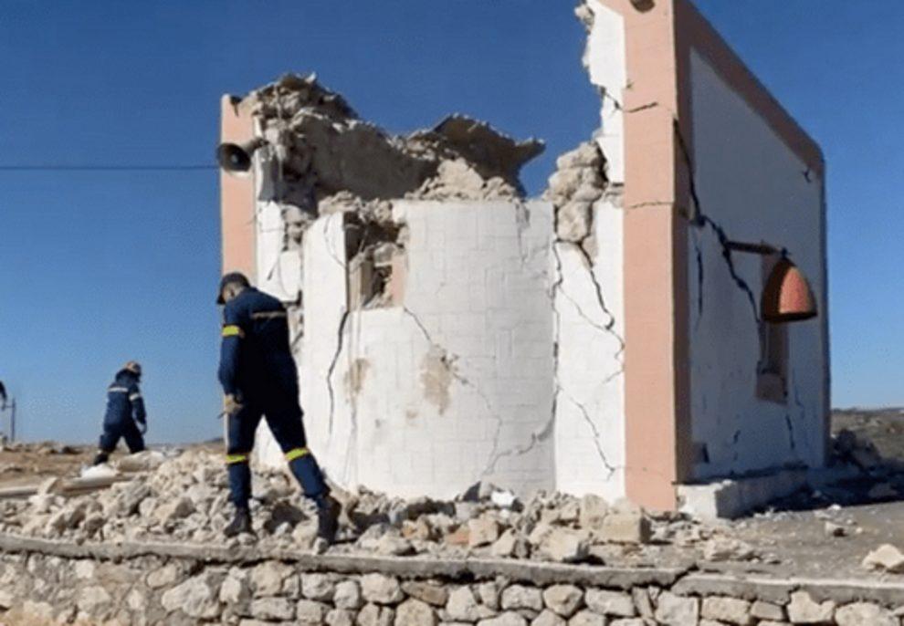 Σεισμός στην Κρήτη-Απολογισμός: Ένας νεκρός και εννέα οι τραυματίες