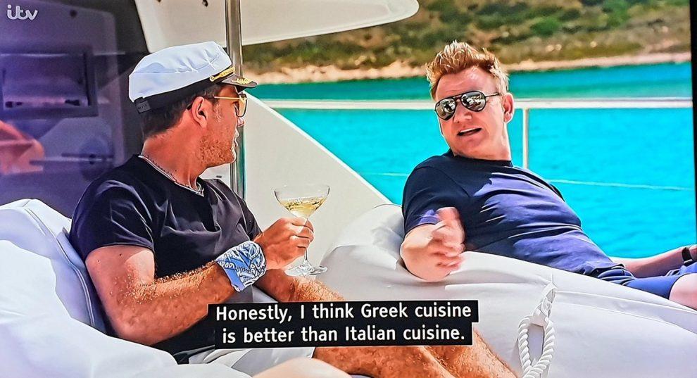 Όταν τσακώνονται οι σεφ  για την ελληνική κουζίνα…
