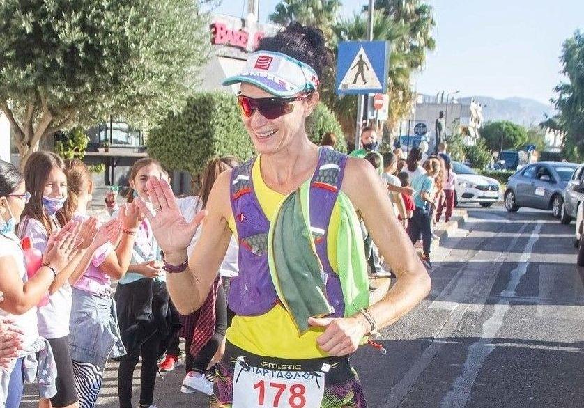 Σταυρούλα Μπάκα: «Έζησα το όνειρό μου μέσα σε 33:57:21