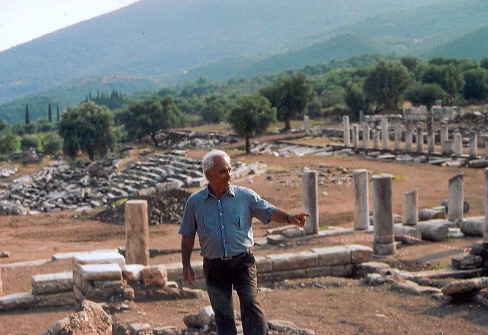 Πέτρος Θέμελης στο «Θ»: Η Αρχαία Μεσσήνη μιλάει από  μόνη της και θα ζήσει μια αιώνια ζωή