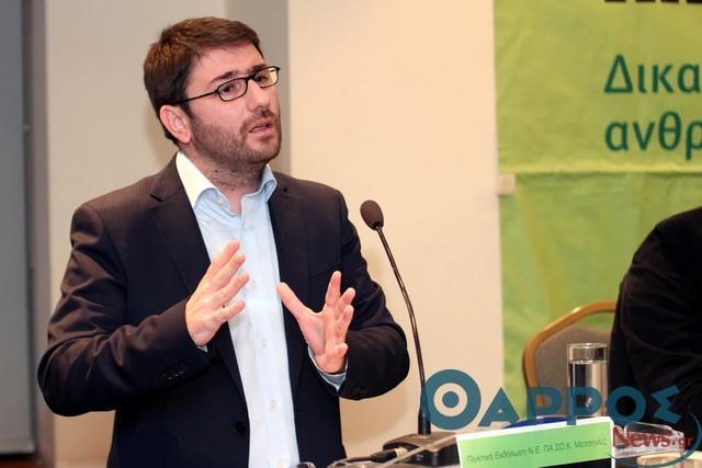 """Νίκος Ανδρουλάκης: """"Αναστέλλω την προεκλογική μου δραστηριότητα"""""""